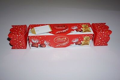 Lindt Chocolate Christmas Cracker 340g , 1 novelty chocolate Gifts
