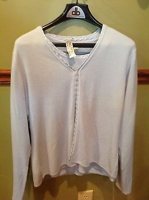 CAROLYN TAYLOR 2 Piece Sweater Set XL NWT