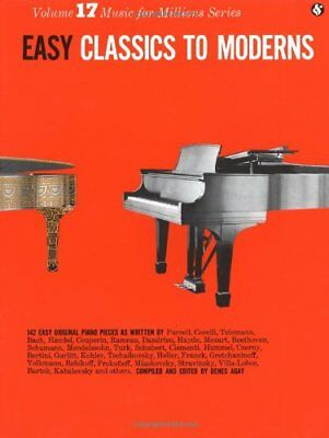 Easy Classics to Moderns Piano: 17 (Music for Millions)