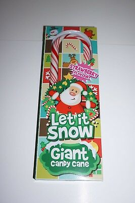 1 Giant Christmas Candy Cane (Boxed) Great Stocking Filler Strawberry Flavour