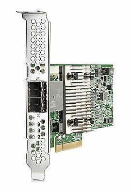 NUOVO HEWLETT PACKARD ENTERPRISE 726911-B21 H241 12 Gb 2- ports Ext Smart **Ne