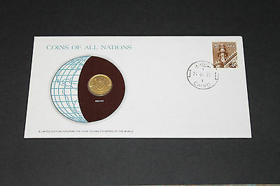 Egypt Coins Of All Nations 1979 10 Mill Coin Unc