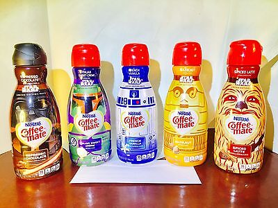 Star Wars Limited Edition Nestle Coffee Mate Vader R2D2 Chewbacca C3PO Boba Fett