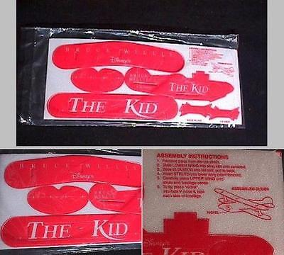 Lot of 4 Disney's The Kid Styro Foam Promotional Planes all mint in packaging