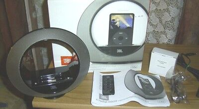 Jbl radial micro Speaker Lautsprecher Dockingstation für IPhone iPod