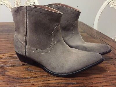 One teaspoon Suede Leather Ankle  boots 9 40 rrp $239