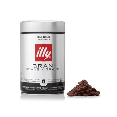 illy Coffee BEANS  Dark Roast 250g (box of 12)