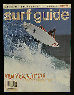 Surfing Magazine Surf Guide 1998 Surfer Longboarding  Collector's Series
