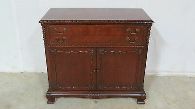 Chippendale Server Sideboard Mahogany Dining Room Set