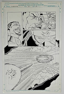 Original Comic Art-Stormwatch #28-Page 12-Ron Lim Pencils, Robert Jones Inks-COA