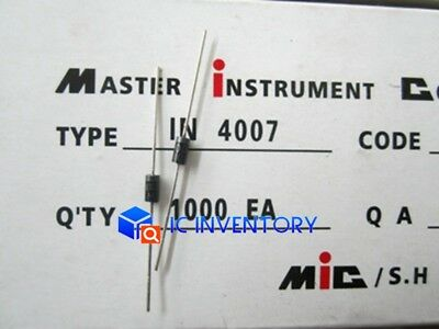 100PCS 1N4007 1A 1000V Rectifier Diode Tape DO-41 New