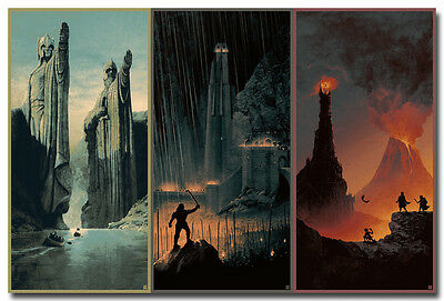 The Lord Of The Rings 1 2 3  Movie Nice Silk Poster Print 12x18 24x36 inches 002