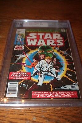 STAR WARS #1 PGX 9.8 Certified 1977 WHITE PAGES!! Like CGC and CBCS
