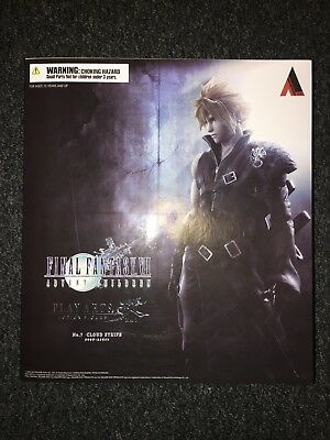Play Arts Kai Final Fantasy Advent Children Cloud Strife Figure (new, authentic)