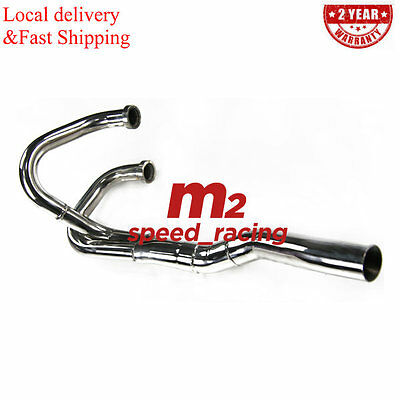S/S Exhaust Head Header Pipe Fit For Honda XR600 R 1991-2000 XR650 L 1993-13 Hot