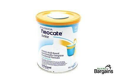 Neocate Junior, Unflavored, 14.1 Oz / 400 G (1 Can), 14.1 Count