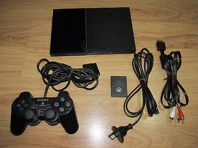 Sony PlayStation 2 Slim Console + Controller + Leads