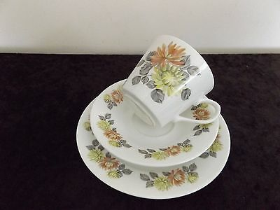 Royal Vale China Trio  Made In England