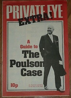 Private Eye Special - The Poulson Case - RARE