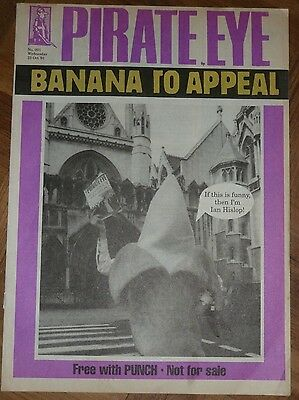 Pirate Eye 23 October 1991. Private Eye spoof by Punch Magazine
