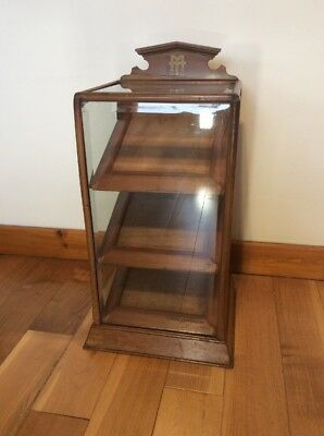 Vintage 1920's Fountain Pen Display Cabinet Swan Mabie Todd
