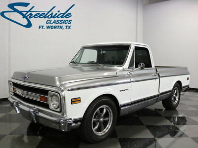 1970 Chevrolet C-10  VERY SHARP C-10 W/ GREAT PAINT AND INTERIOR!  LEATHER! PS, PB W/ 4 WHEEL DISCS
