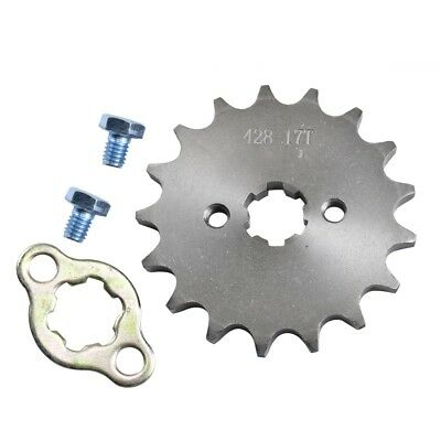 17T Teeth 17mm 428 Chain Front Sprocket Cog PIT TRAIL QUAD DIRT BIKE ATV BUGGY