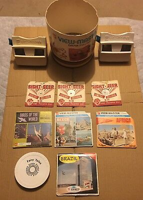 Vintage Bulk Lot 2 View Masters And Reels