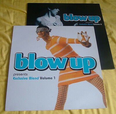 Blow Up Records Presents Exclusiveblends Volumes One & Two Rare & Vhtf