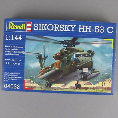 1:144 Revell Bausatz Sikorsky HH-53 C Helicopter Transporthubschrauber USMC Army