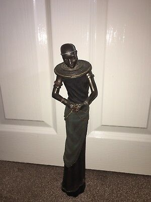 Maasai Warrior Figurine