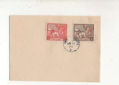 Gb 1924 Empire Exhibition Wembley On Forged Cover Fdc. Part Radlett Cancellation