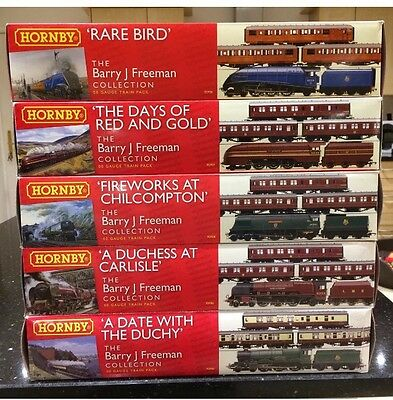 HORNBY Limited editions 00 Gauge R 2906 R2907 R2908 R2985 R2986 Barry J Freeman