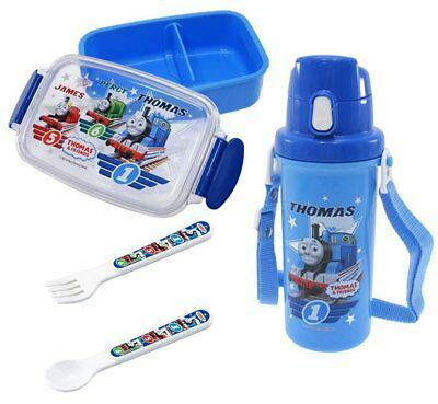 Thomas and Friends Set of Three Lunch Tools for Children - Thermos, Lunch Box