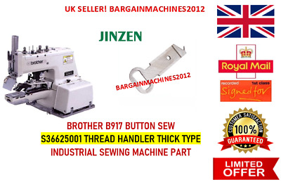 Brother B917 Button Sew L/ Position Finger Industrial Sewing Machine Part