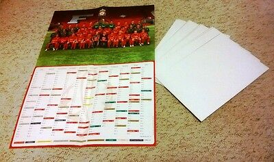 Job Lot Of 39 Liverpool 2005/2006 Fixture Posters  With  Team Photo