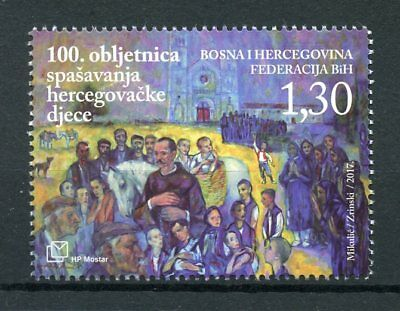 Bosnia & Herzegovina 2017 MNH WWI WW1 Starving Children Rescue 1v Set Stamps