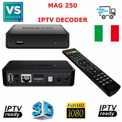 Decoder Iptv Mag 250 Hdtv 1080P Hdmi Streaming Tv Hdbox Media Player Usb Mag 250