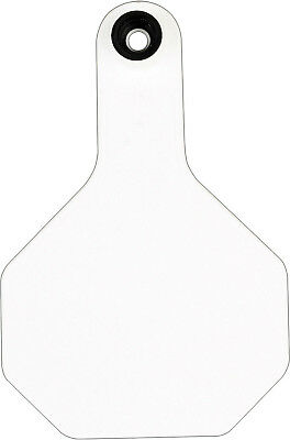 Y-Tex 3 Star Medium Blank Cattle Tags 25 Count White