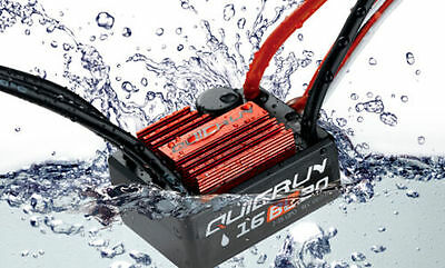 HobbyWing QuicRun WP  16BL30 30A waterproof brushless ESC for RC 1:16/1:18 Car