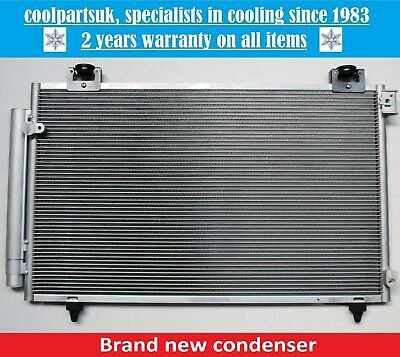 Brand New Condenser (Air Con Radiator) Toyota Avensis Petrol 2003 To 2008