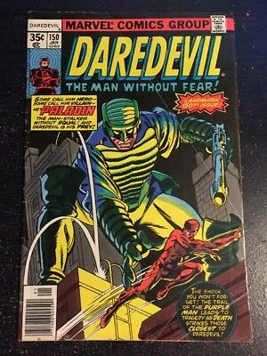 Daredevil#150 Awesome Condition 5.5(1977) 1st Paladin Appearence!!