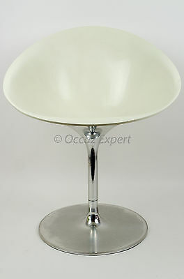 Fauteuil Pivotant2 Kartell Ero/s/ By Philippe Starck Blanc White Chair (500,00€)