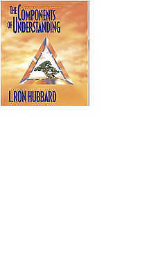 The Components Of Understanding  (Scientology PB Booklet)  L. Ron Hubbard NEW