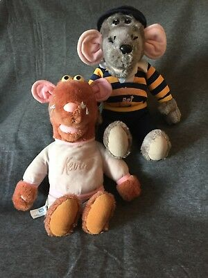 roland rat and kevin soft toys