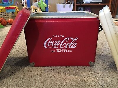 Vintage Coke Cola Cooler
