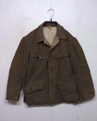 RARE 1940'S Vintage WW2 Japan Army Winter Cotton Jacket Coat Military Clothes