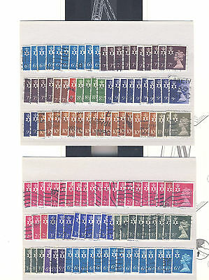 3446 x Northern Ireland Decimal Machin Stamps - Used Off Paper