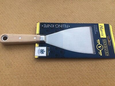 "HARRIS VANQUISH 3"" 75mm FLEXIBLE FILLING KNIFE SPATULA VC2037 SCALE TANG FILLER"