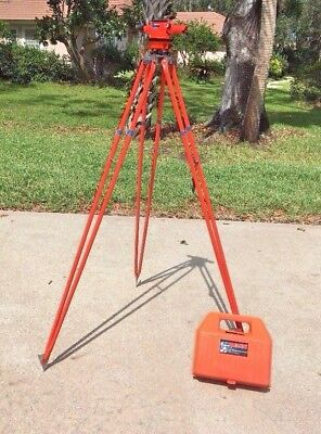 David White Site Boss 8092 Transit w/Tripod & Case